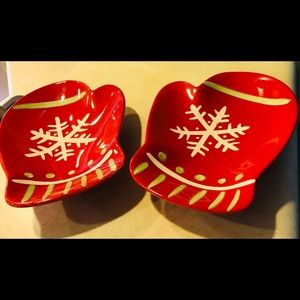 Hallmark Mitten Small Dishes/Decorations
